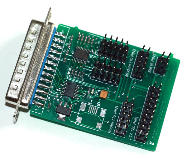 New all in one jtag works for Router, Modem, FTA and SAT.