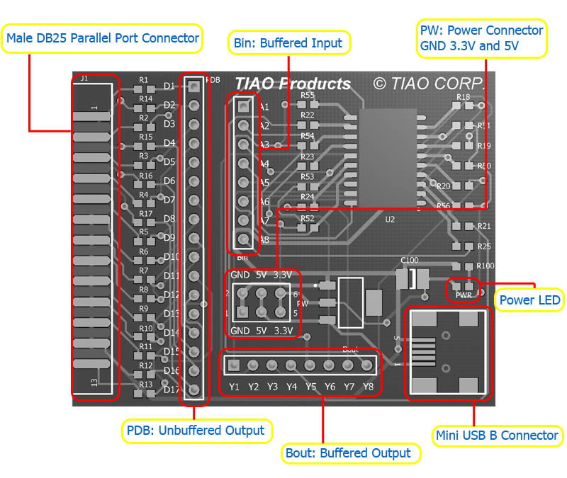 universal jtag user manual parallel tiao s wiki Schematic Combination universal jtag layout